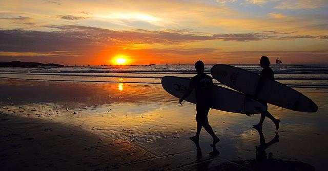 Being a Surfer, Not a Tourist